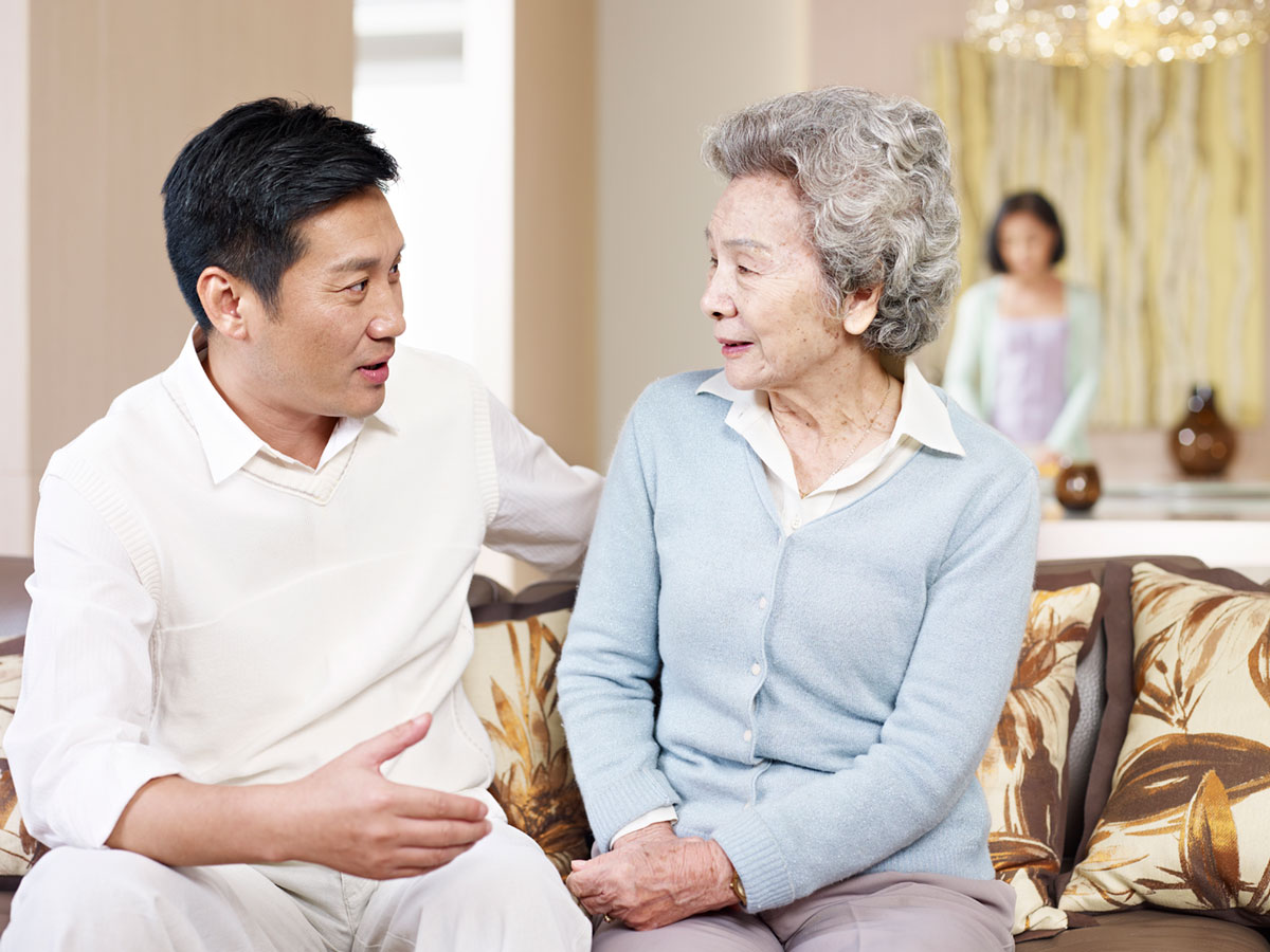 Having a talk about senior home assistance can be tough. We can help!