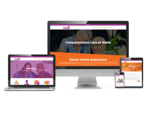 Senior Home Assistance new website branding